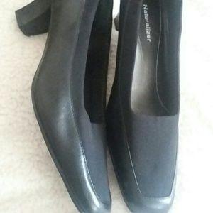 "Classic Black Naturalizer 2"" Heels Size 9"